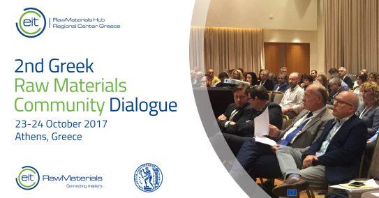 2nd Greek Raw Materials Community Dialogue