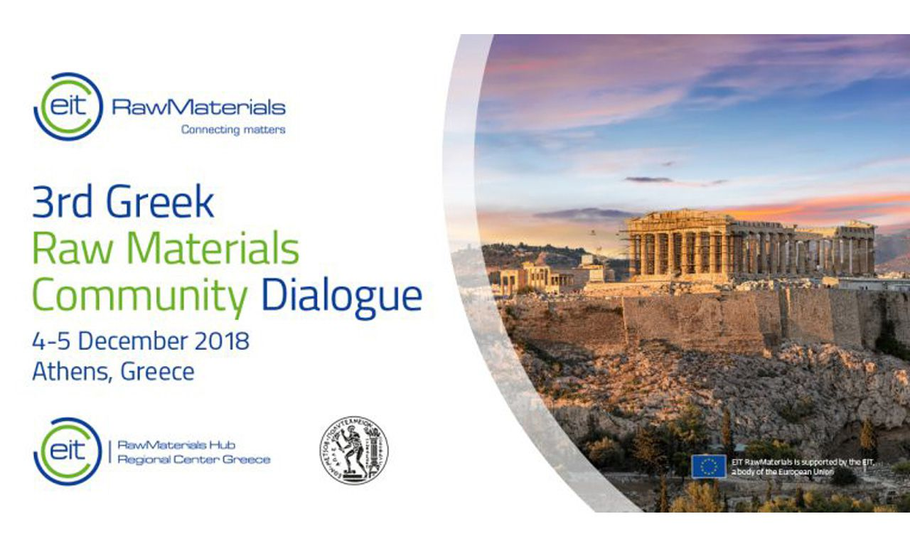 3rd Greek Raw Materials Community Dialogue