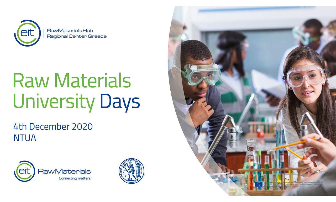 Raw Materials University Days (RMUD)