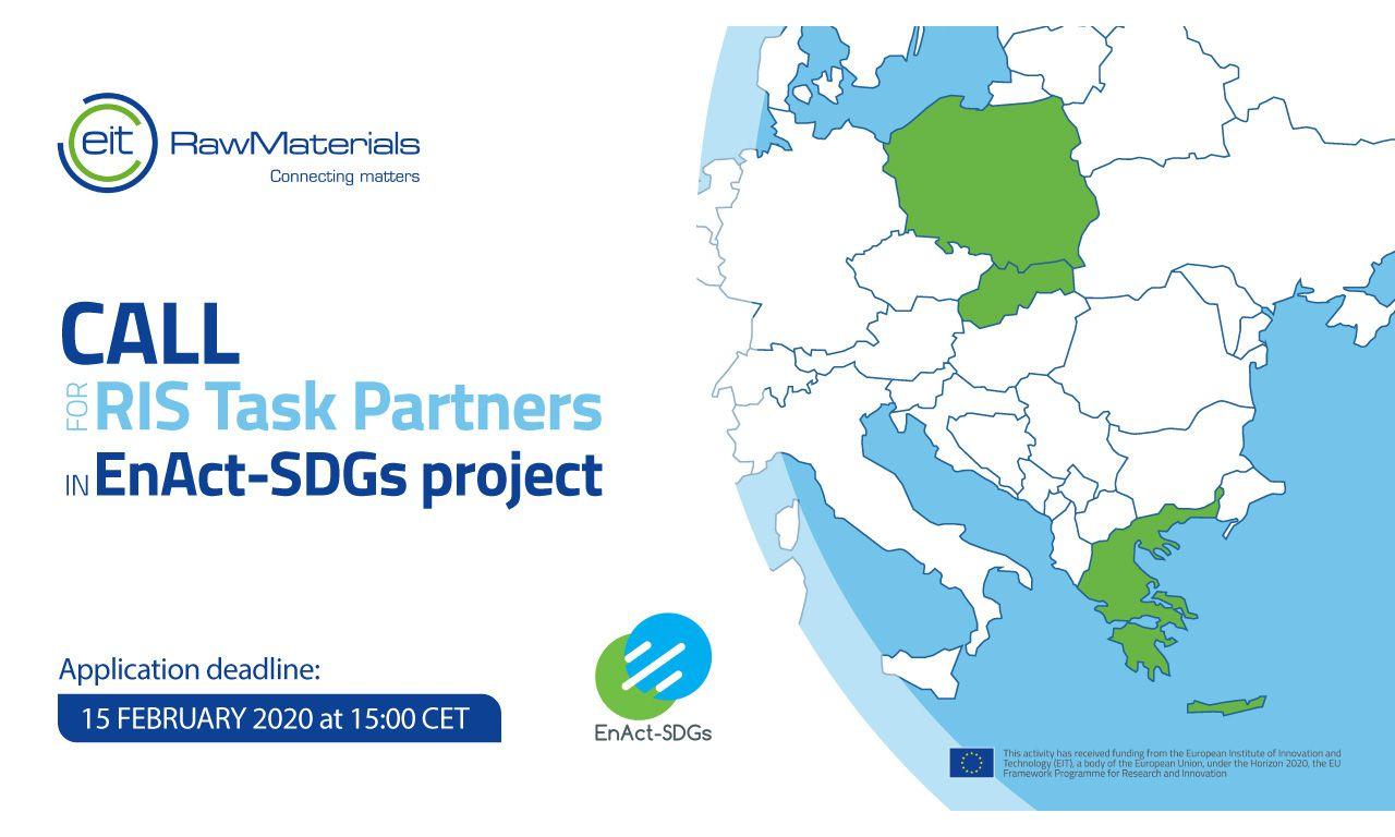 Call for RIS Task Partners EnAct-SDGs