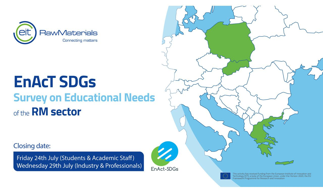EnAcTSDGs –Survey on Educational Needs of the RM sector
