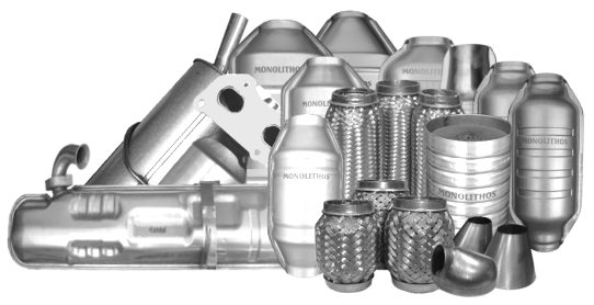 MONOLITHOS produces Catalytic Converters and Diesel Particulate Filters (DPFs) for all vehicles and models.