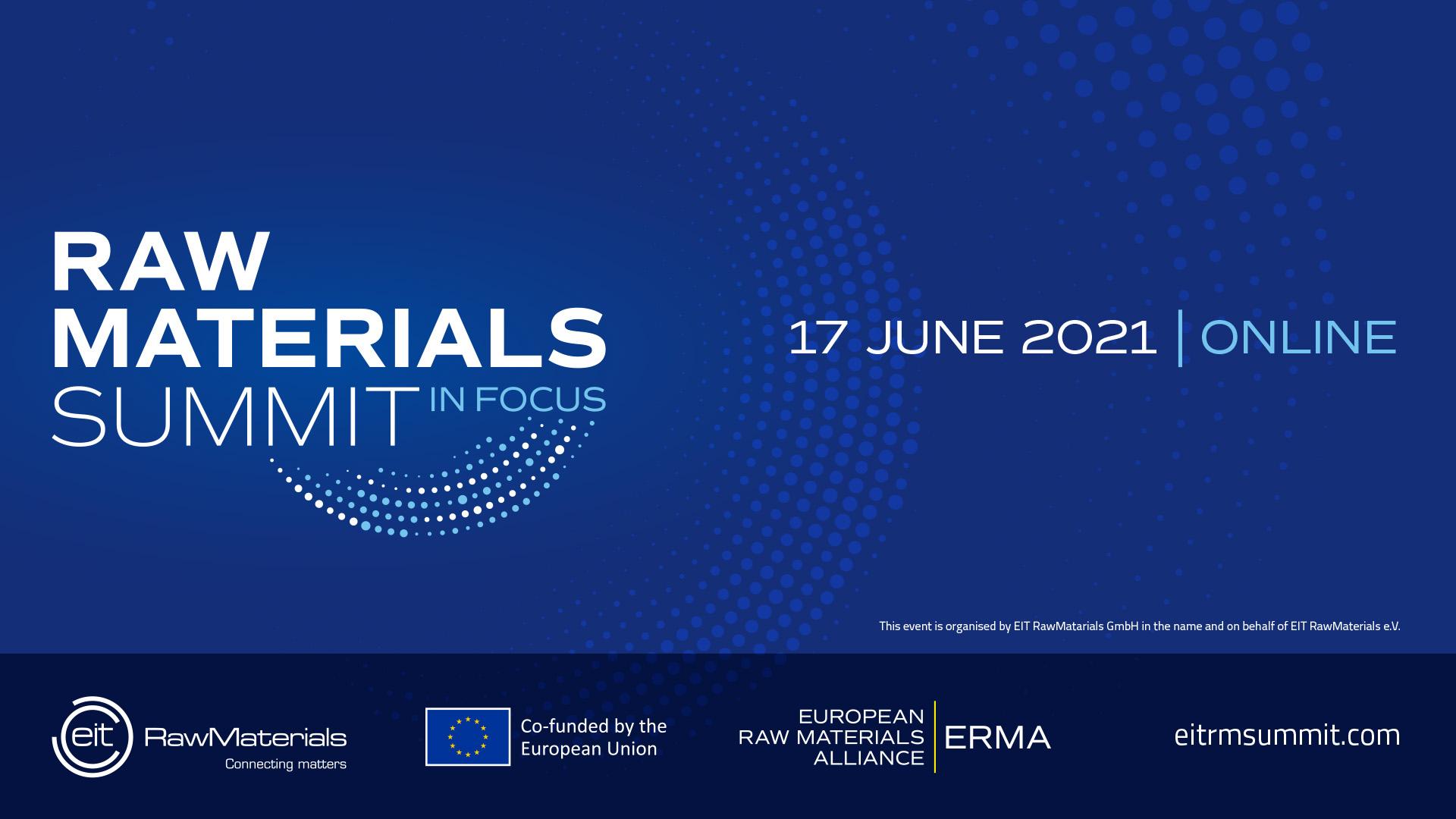 EIT RawMaterials Summit 2021